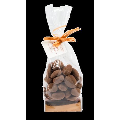 Amandes au Chocolat au Lait 125gr (MÉDAILLE DE BRONZE 2014)