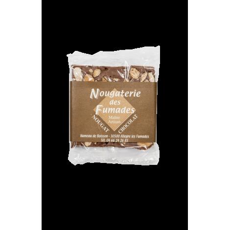 Nougat Chocolat Noir et Amandes 50gr