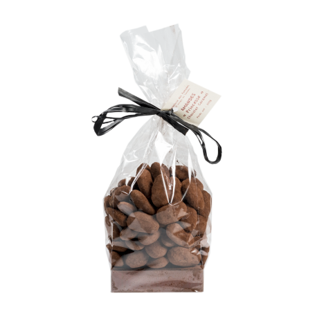 Amandes au chocolat lait-caramel 125gr