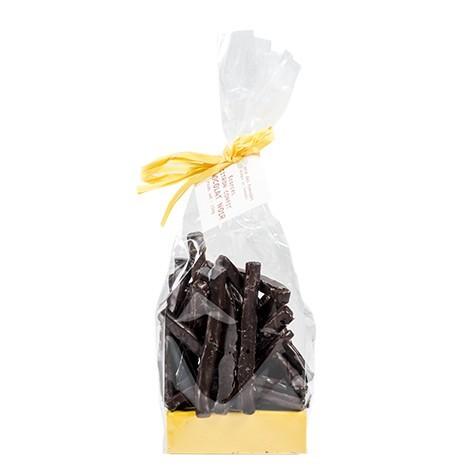 Ecorces de citron au chocolat noir